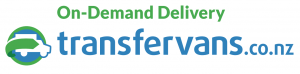 Transfervans On-Demand Delivery Logo